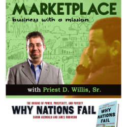Author Daron Acemoglu, Why Nations Fail