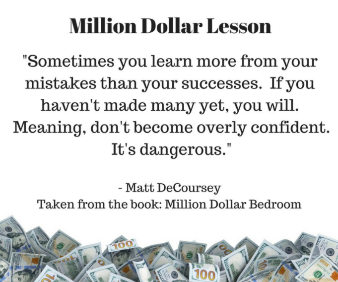 million dollar bedroom book excerpt