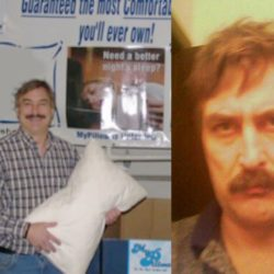 Mike Lindell: Before and After MyPillow
